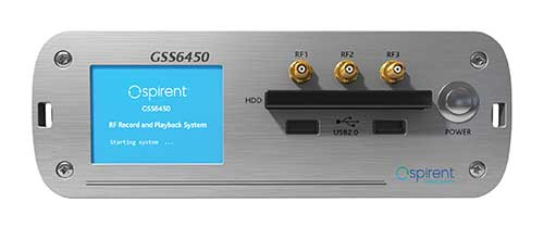 The GSS6450 RF record and playback system. (Photo: Spirent)