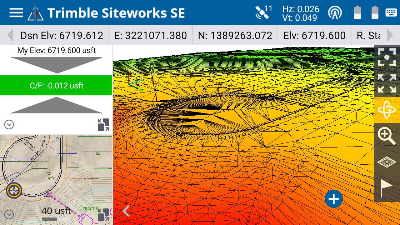 The Trimble Siteworks SE Starter Edition. (Screenshot: Trimble)