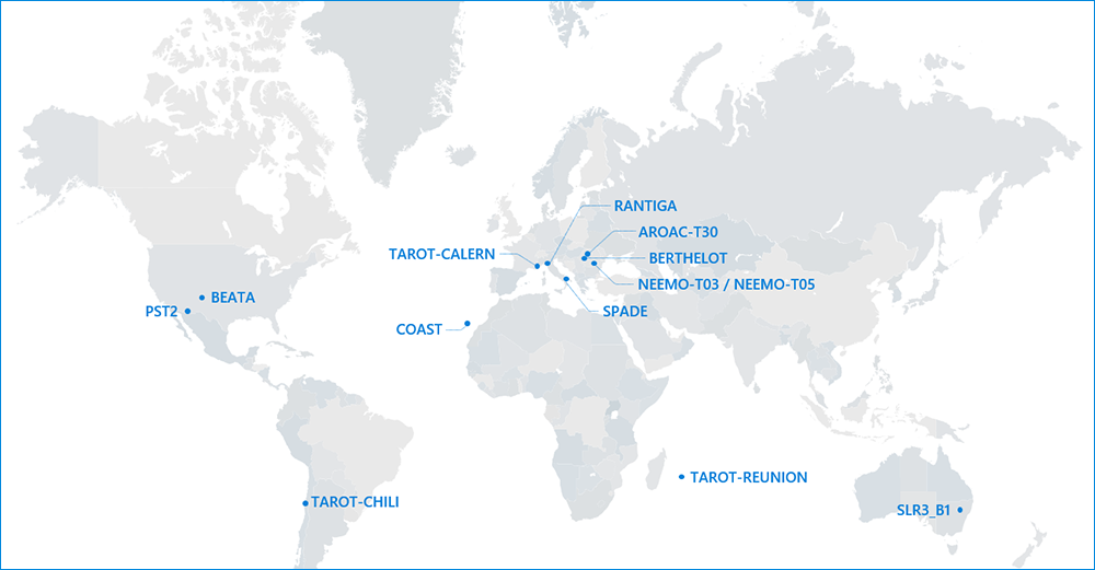 Map of sensors contributing to the event. (Image: EUSST)