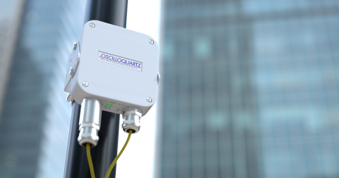 Adva's OSA 5405-MB provides nanosecond timing at a network's edge. (Photo: Business Wire)