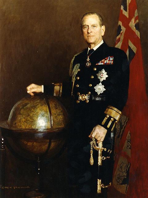 The official portrait of HRH The Duke of Edinburgh as Master of Trinity House. (Image: Trinity House)
