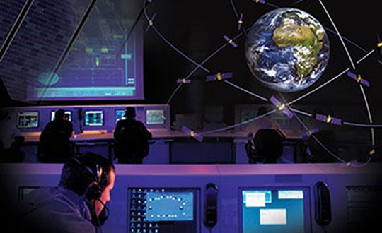 Fucino, Italy, hosts a Galileo Control Centre. (Image: Telespazio/ESA)