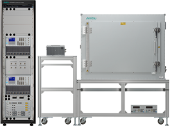 The ME7834NR 5G NR mobile device test platform. (Photo: Anritsu)
