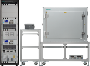 The ME7834NR 5G NR mobile device test platform. (Photo: Anritsu)