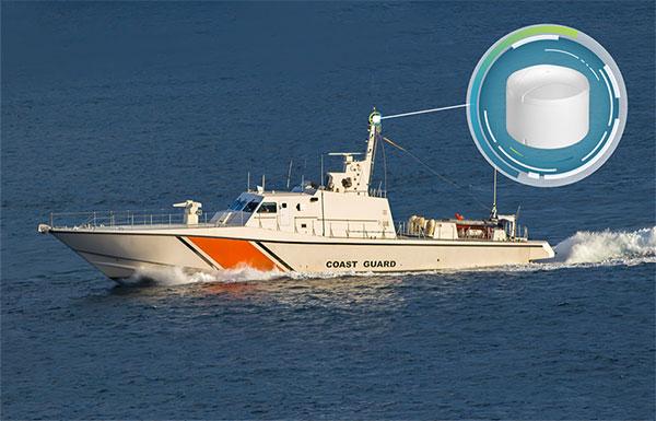 El GAJT-410MS proporciona antiinterferencias para buques de guerra.  (Foto: NovAtel)
