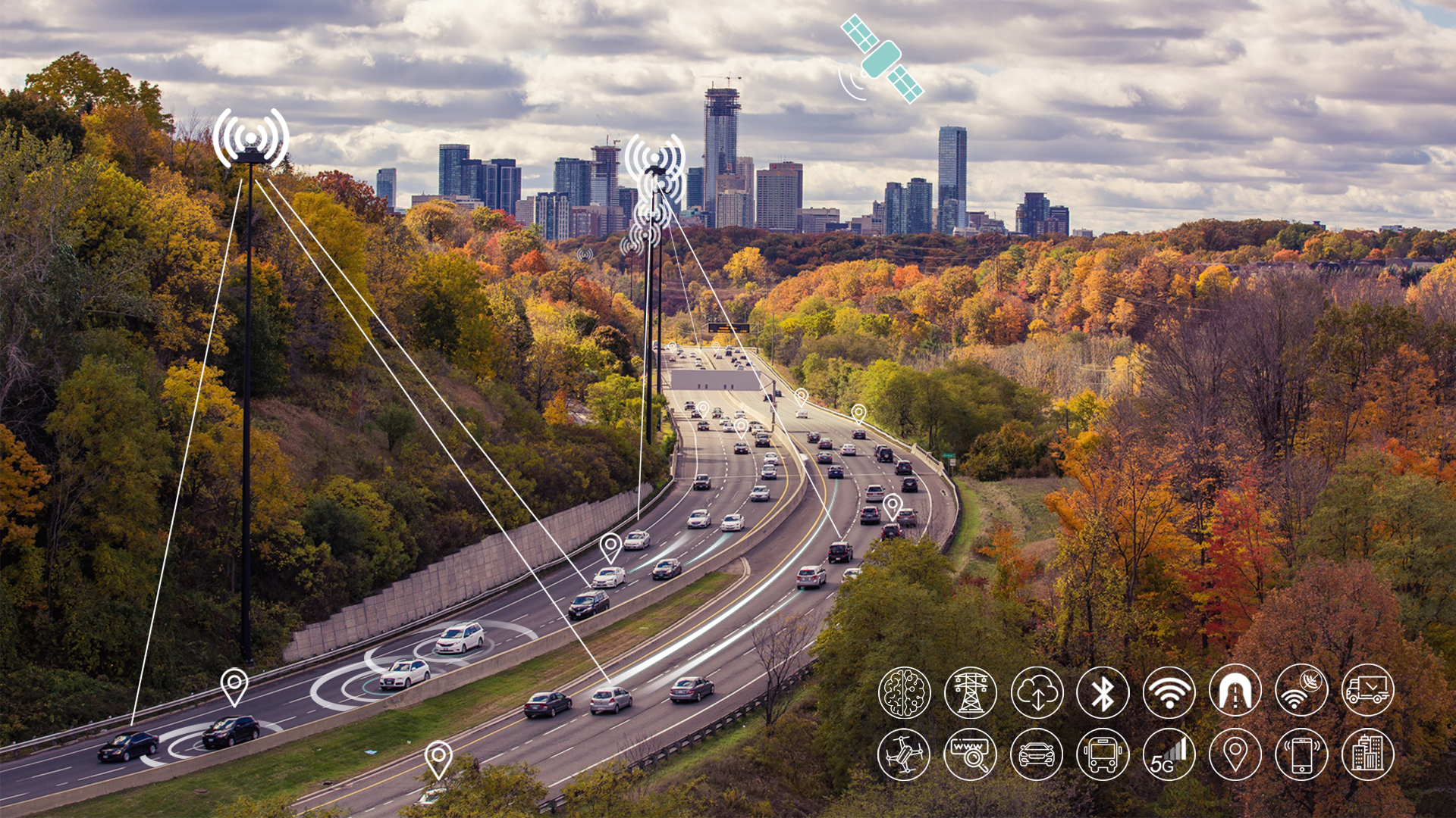 NAVISP includes projects for autonomous and connected driving. (Image: ESA/F. Bagiana)