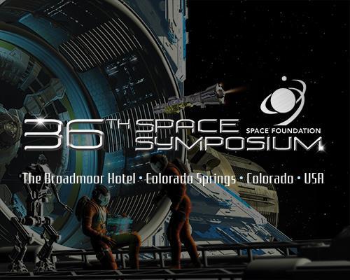 space symposium event logo