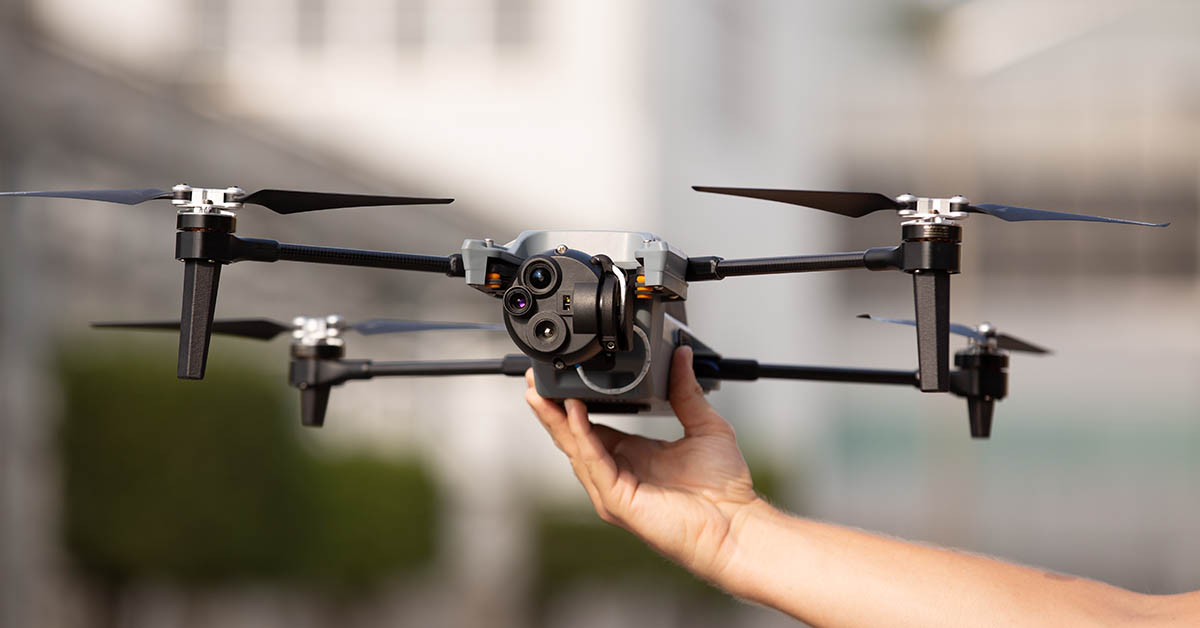 The FLIR M440 UAV. (Photo: Teledyne FLIR)