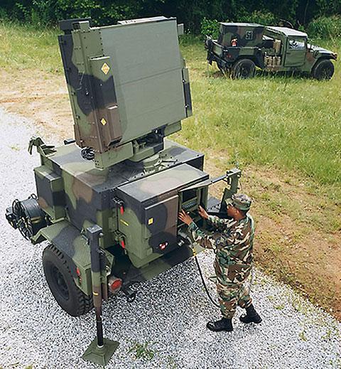 Orolia is supplying SecureSync units for Lockheed Martin's Sentinel A4 radar. (Photo U.S. Army)