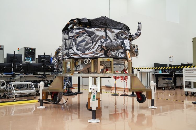 Northrop Grumman has successfully delivered an ESPAStar-D spacecraft bus to L3Harris in support of the NTS-3 mission. (Photo: U.S. Air Force)