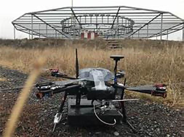 The Cursir nav-aid inspection drone. (Photo: Cursir)