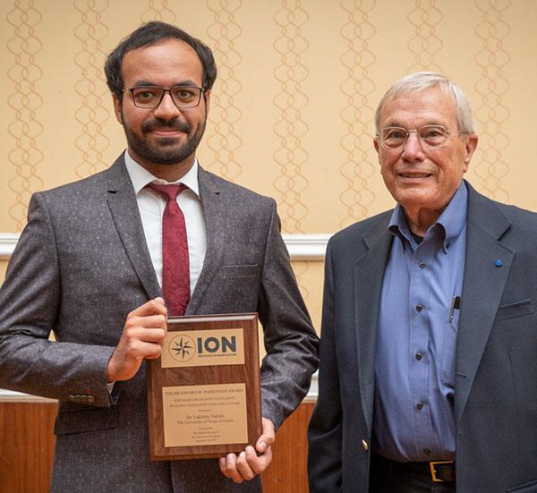 Lakshay Narula with Brad Parkinson. (Photo: ION)