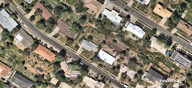 A Salt Lake City neighborhood. (Photo: Nearmap)
