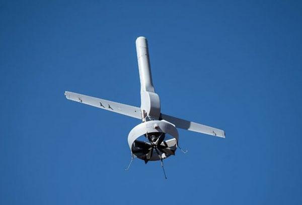 Northrop Grumman and Martin UAV conduct flight testing of Martin UAV's V-BAT aircraft for the US Army's Future Tactical Unmanned Aircraft System effort in Camp Grafton, North Dakota. (Photo: Northrop Grumman)
