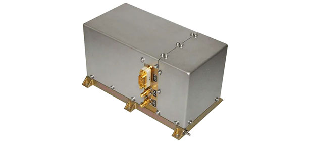 The RAFS Flight Model atomic clock will fly aboard the second generation Galileo satellites. (Photo: Orolia)