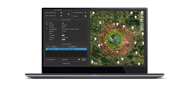 Qinertia post-processing software will be used on Septentrio receivers. (Photo: SBG Systems)