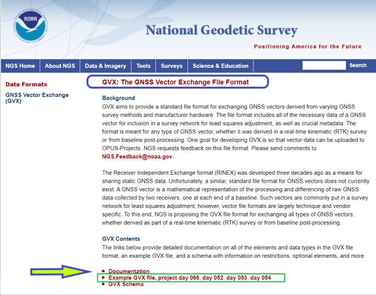 Image: NGS website