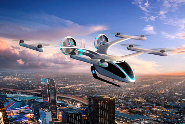 The Eve air taxi. (Image: EmbraerX)