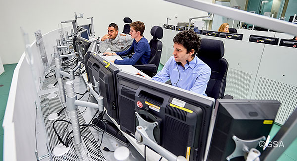 Galileo Control Centre in Oberpfaffenhofen, Germany. (Photo: ESA)