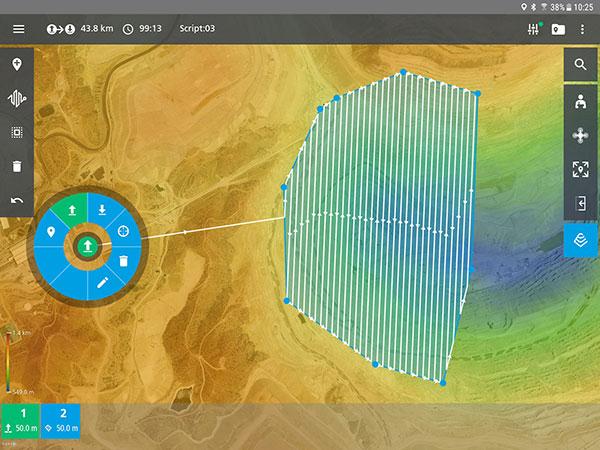Screenshot: Microdrones