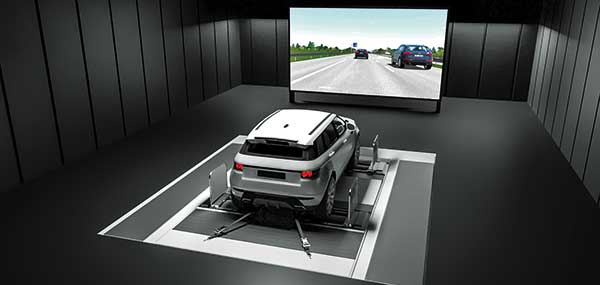 AVL DRIVINGCUBE enables the reproducible testing of driver assistance systems for self-driving vehicles. (Photo: AVL)