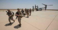 Photo: U.S. Marines at Al Asad Air Base in 2018. (Cpl. Jered T. Stone/Marine Corps)