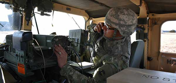 Soldiers in the field learn how to operate in a NAVWAR environment. (Photo: U.S. Army)