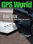 GPS World August 2013 cover