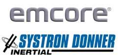 Logos: Emcore & Systron Donner