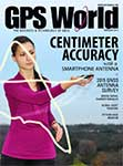 GPS World February 2015 cover