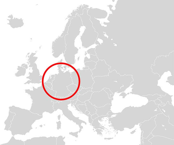 FIGURE 5. Location of stationary testing carried out within Sapcorda's European network. (Image: Sapcorda)