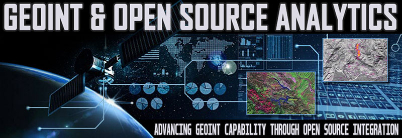 Logo: GEOINT and Open Source Analytics Summit
