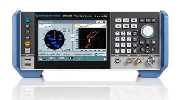 The SMBV100B GNSS simulator. (Photo: Rohde & Schwarz)