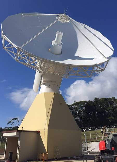 Galileo telemetry and telecommand ground station. (Photo: ESA)