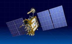 Artist's rendering of a Glonass-K satellite. (Image: ISS-Reshetnev)