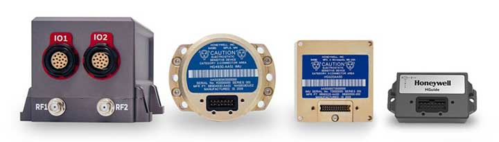 Honewell's HGuide micro-electro-mechanical system (MEMS) inertial measurement units (IMUs) and INS are designed to be integrated with GNSS receivers. (Photo: Honeywell)