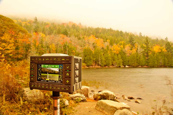 The Triumph-LS receiver. (Photo: JAVAD GNSS)