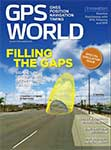 GPS World March 2016 cover