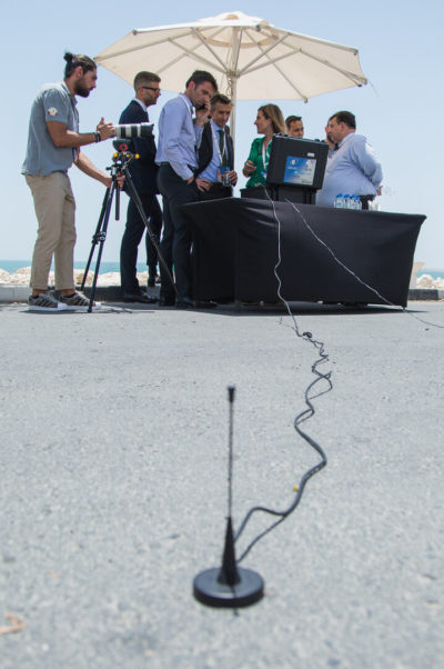a public demonstration of Galileo's return link service was performed at the Cospas-Sarsat Joint Committee Meeting in Doha in Qatar in summer 2019. ()Photo: ESA)