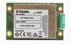 The UAS1 GNSS receiver module has been designed for UAV/UAS applications requiring centimeter accuracy in a small package.(Photo: Trimble)