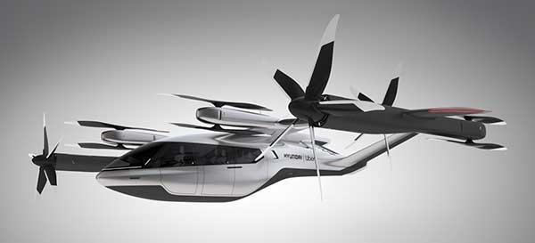 The SA-1 air taxi. (Photo: Uber/Hyundai)