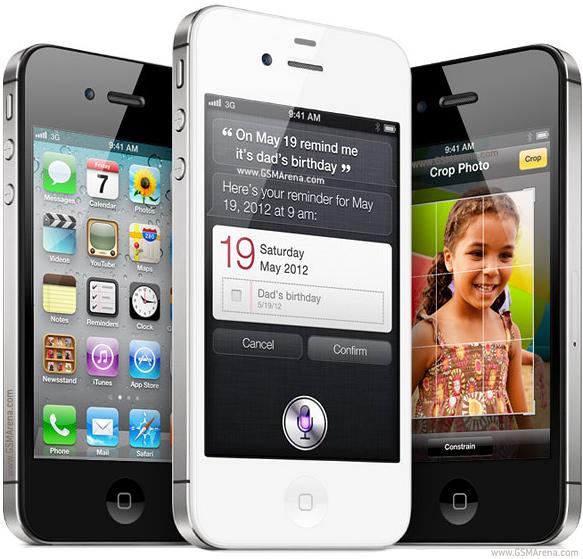 iPhone 4s. (Photo: Apple)