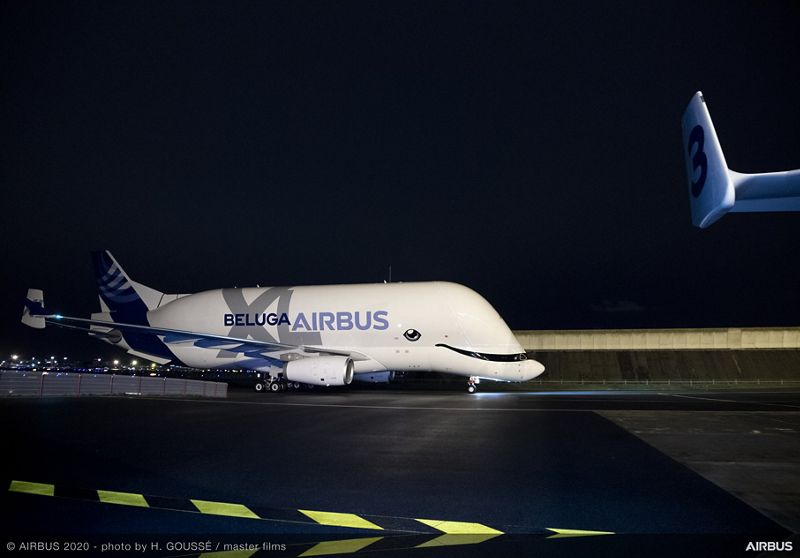 Airbus is providing safety information to all pilots, not just those of the new BelugaXL. (Photo: Airbus)
