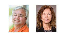 Headshots: John Fischer and Ellen Hall