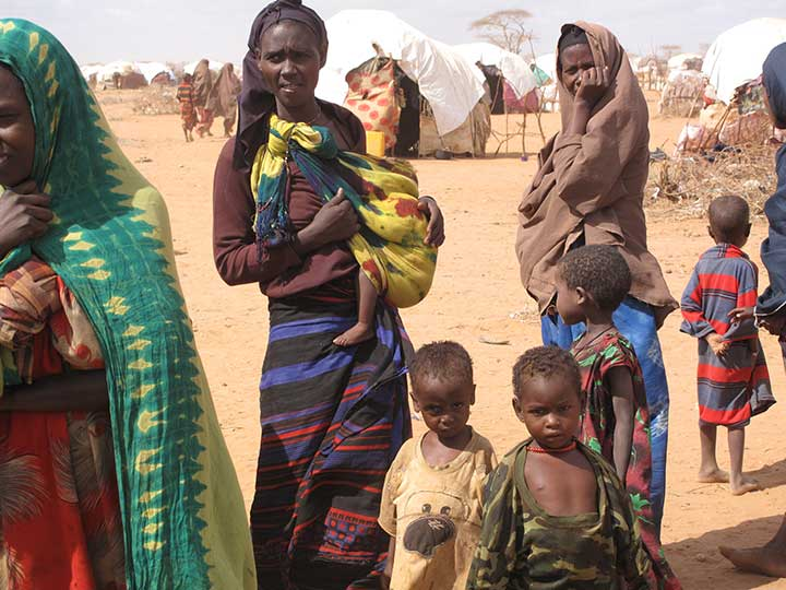 Dadaab Refugee Complex in Kenya. (Photo: iStock.com/sadikgulec)