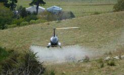 The R22-UV is a manned Robinson-22 helicopter converted by UAVOS to an unmanned aircraft. (Photo: UAVOS)