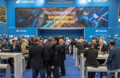 Topcon Positioning Group will be showcasing its vertical construction, construction management, and structural health and inspection technology at Intergeo 2019. (Photo: Topcon)