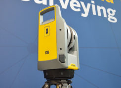 The Trimble X7 is designed for surveying, construction, industrial and forensic applications. (Photo: Allison Barwacz)